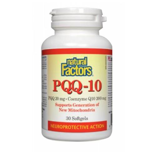 PQQ-10 30 Softgels by Natural Factors