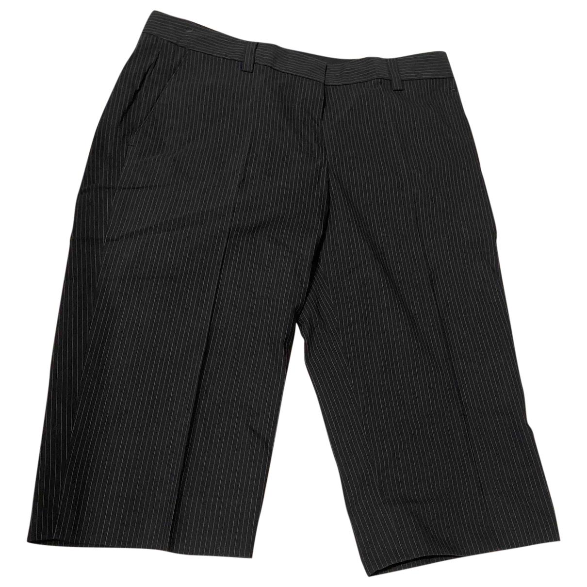 Dkny - Short   pour femme en coton - noir