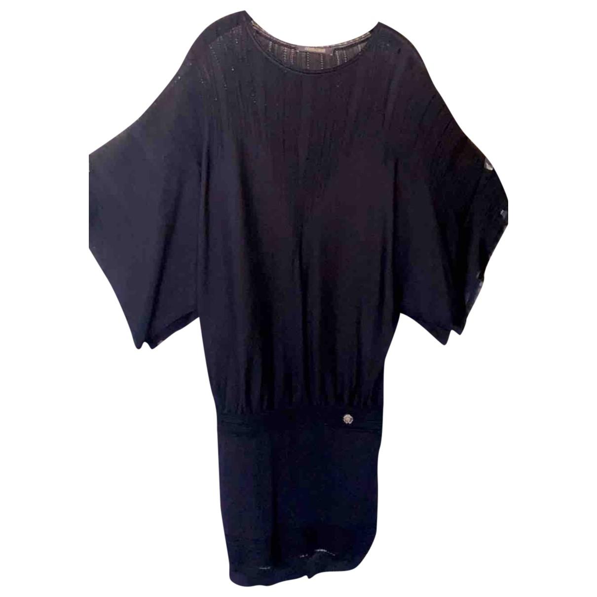 Roberto Cavalli - Robe   pour femme en laine - noir