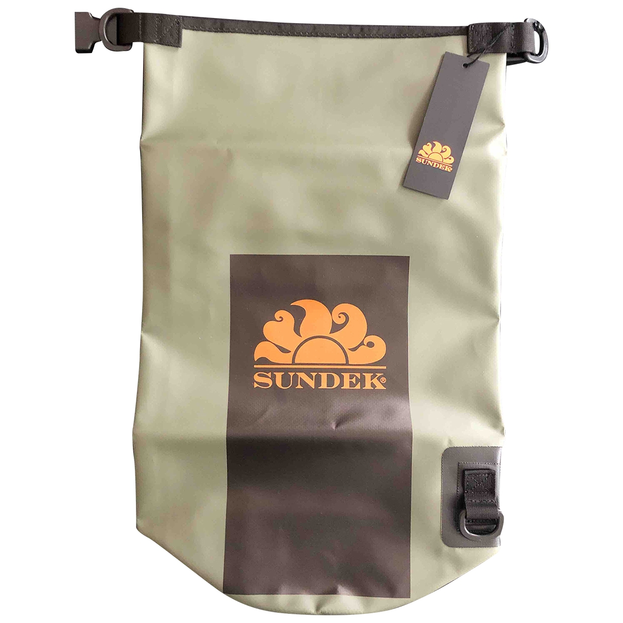 Sundek - Natation   pour lifestyle en cuir - kaki