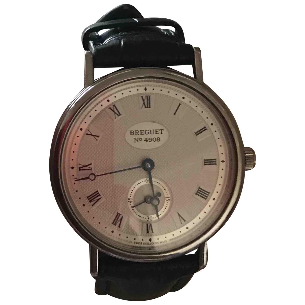 Breguet \N Uhr in  Silber Weissgold