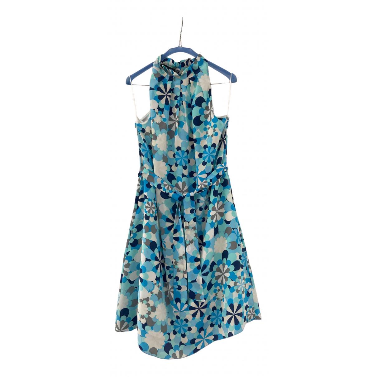 Moschino Love N Multicolour Silk dress for Women 42 FR