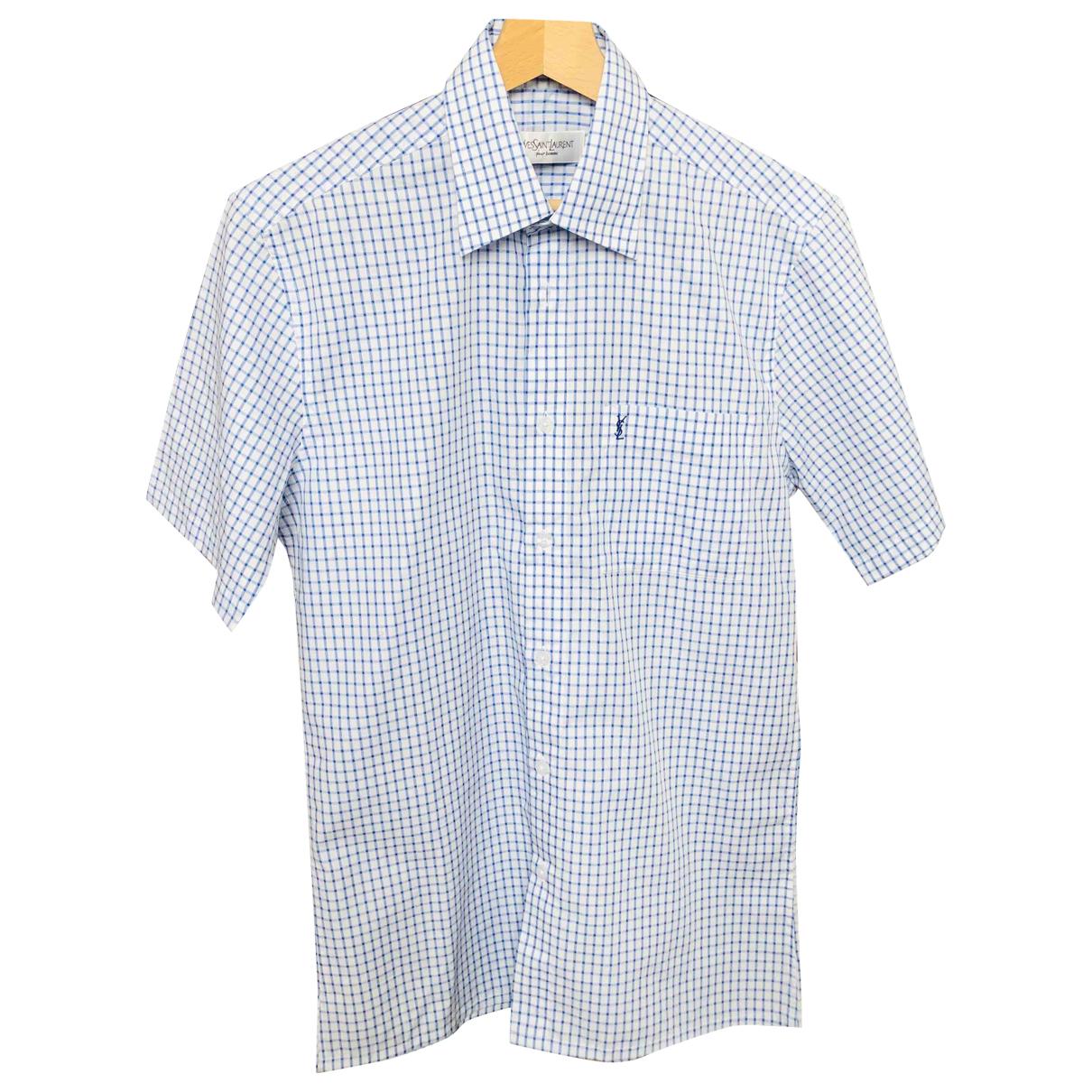 Yves Saint Laurent \N White Shirts for Men S International