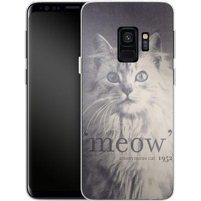 Samsung Galaxy S9 Silikon Handyhuelle - Famous Quote Cat von Florent Bodart