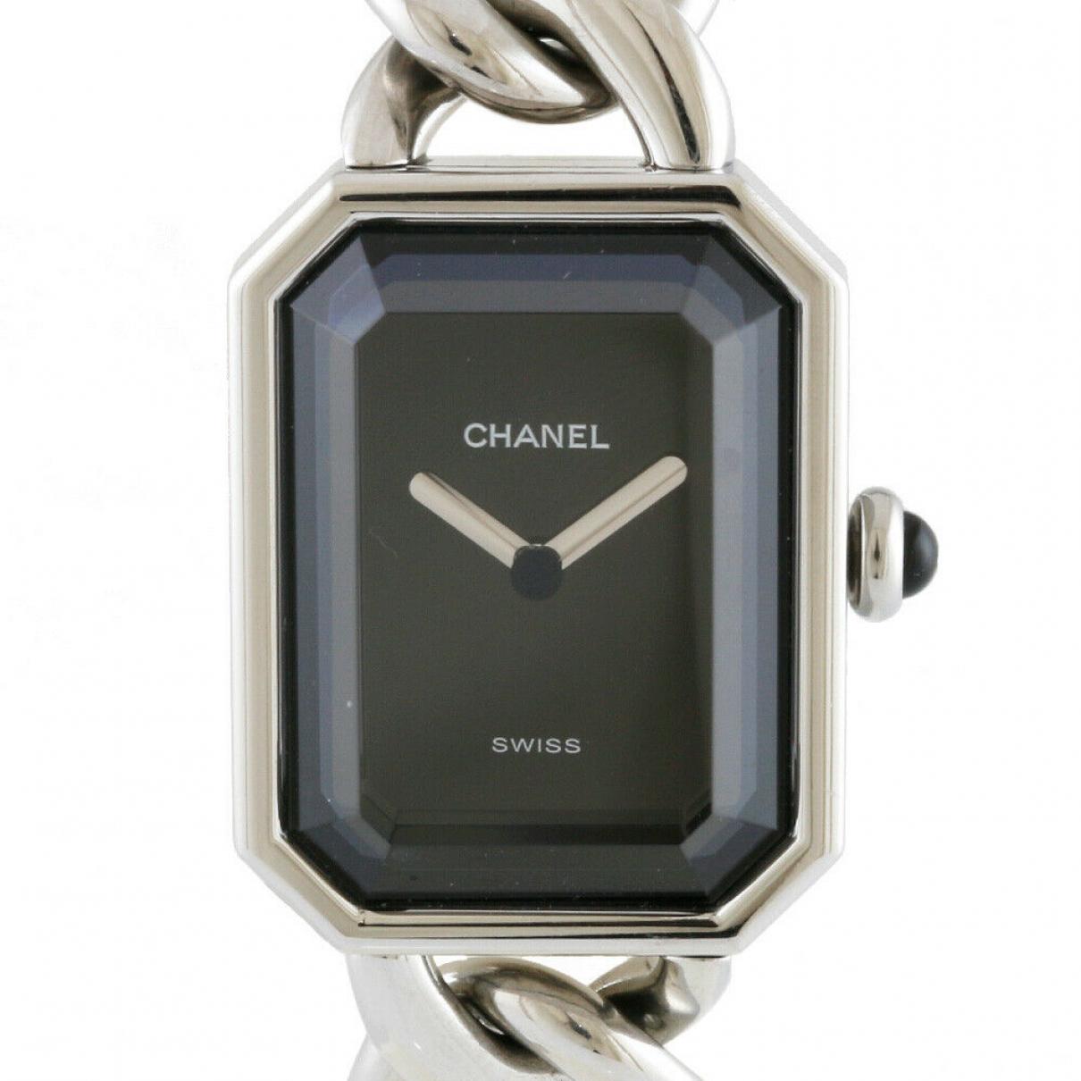 Chanel - Montre   pour femme en acier - argente