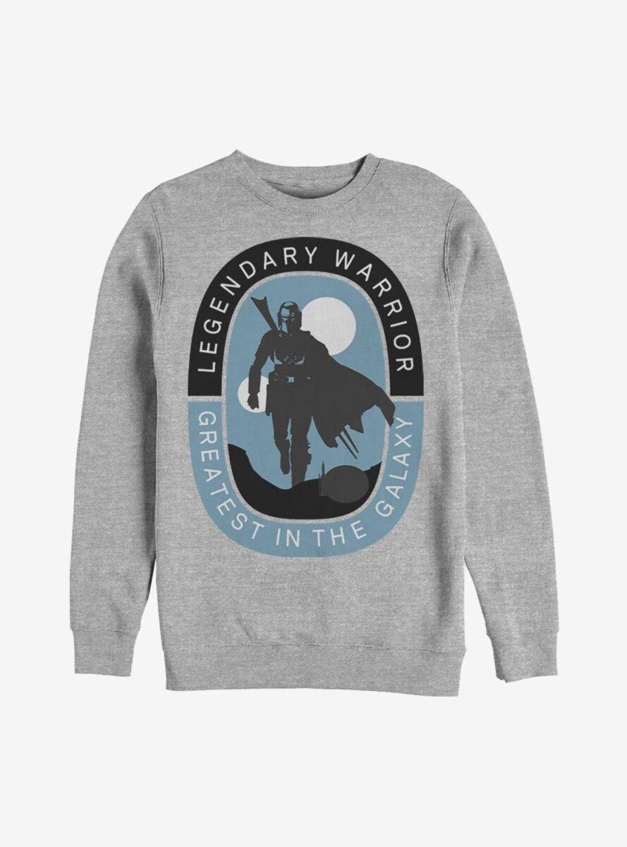 Star Wars The Mandalorian Legendary Warrior Sweatshirt
