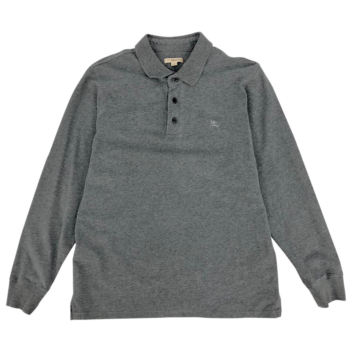 Burberry - Pulls.Gilets.Sweats   pour homme en coton - gris