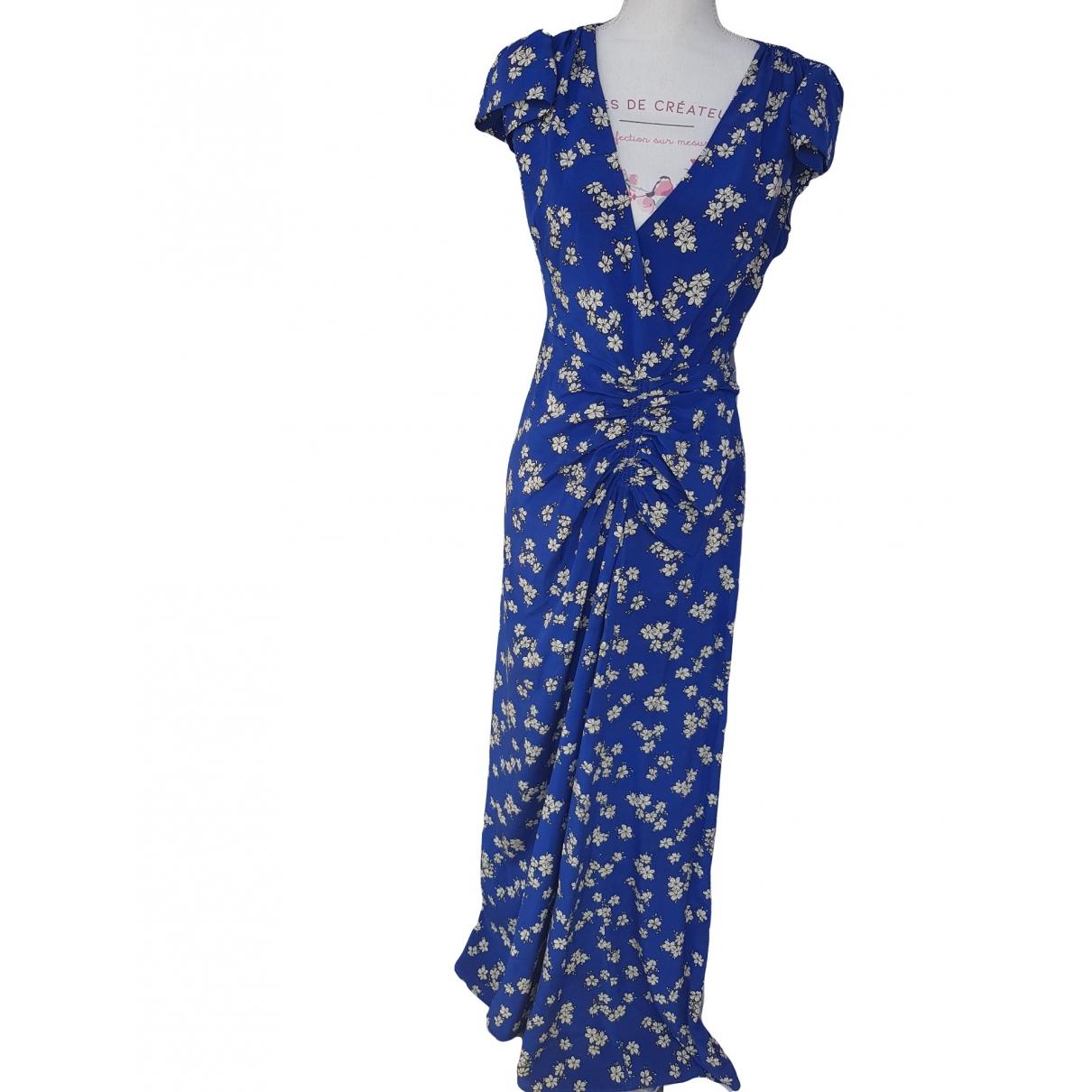 Maxi vestido de Seda Parosh