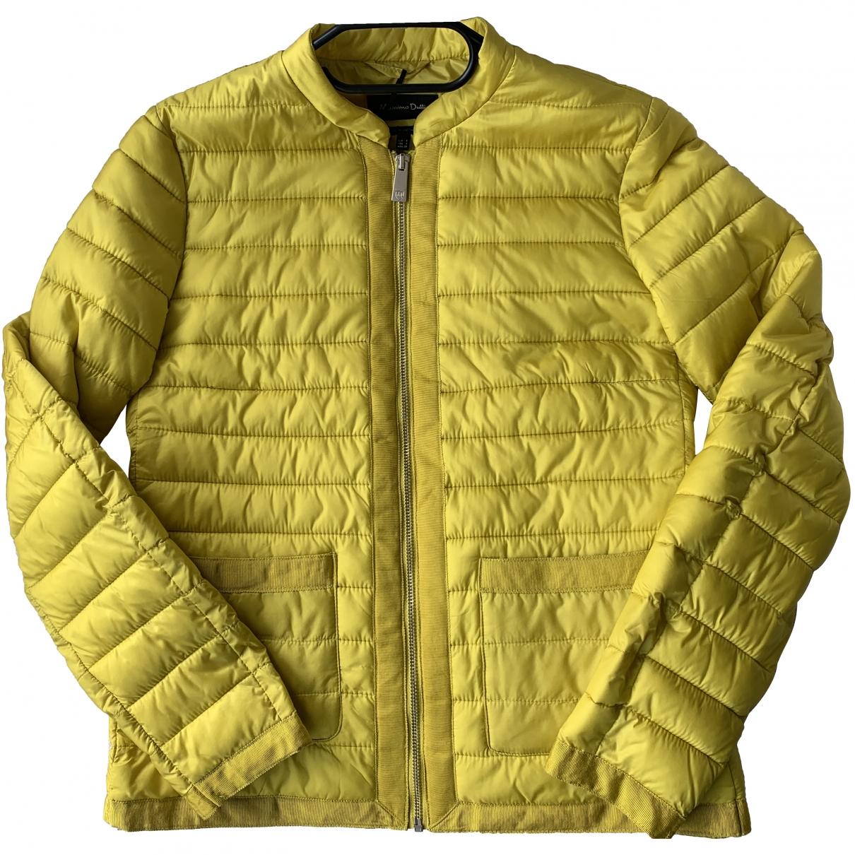 Massimo Dutti \N Yellow jacket for Women 36 FR