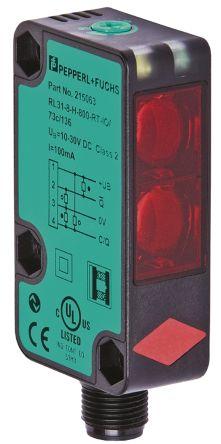 Pepperl + Fuchs Photoelectric Sensor Retroreflective 9 m Detection Range Push Pull