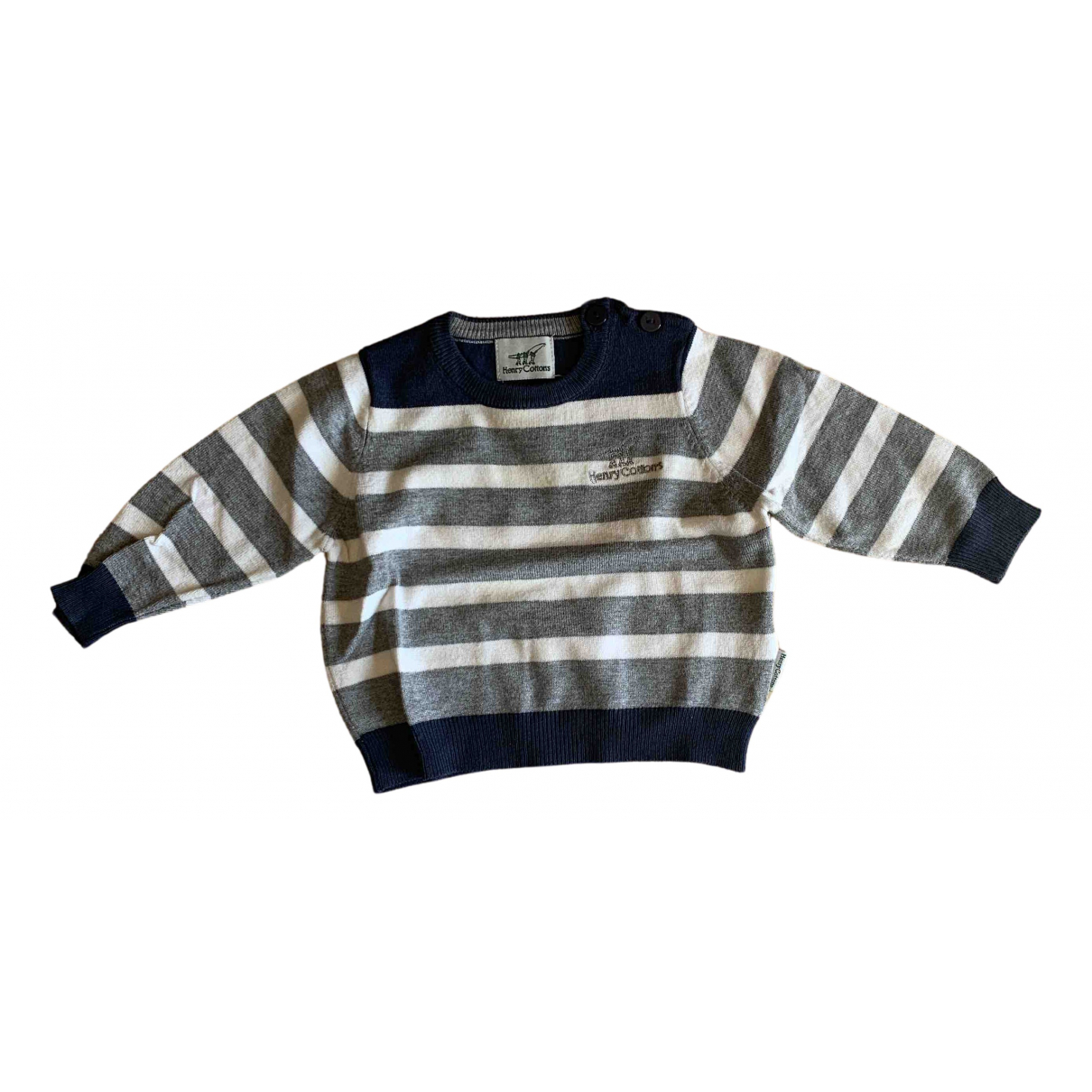 Henry Cotton N Multicolour Knitwear for Kids 6 months - up to 67cm FR