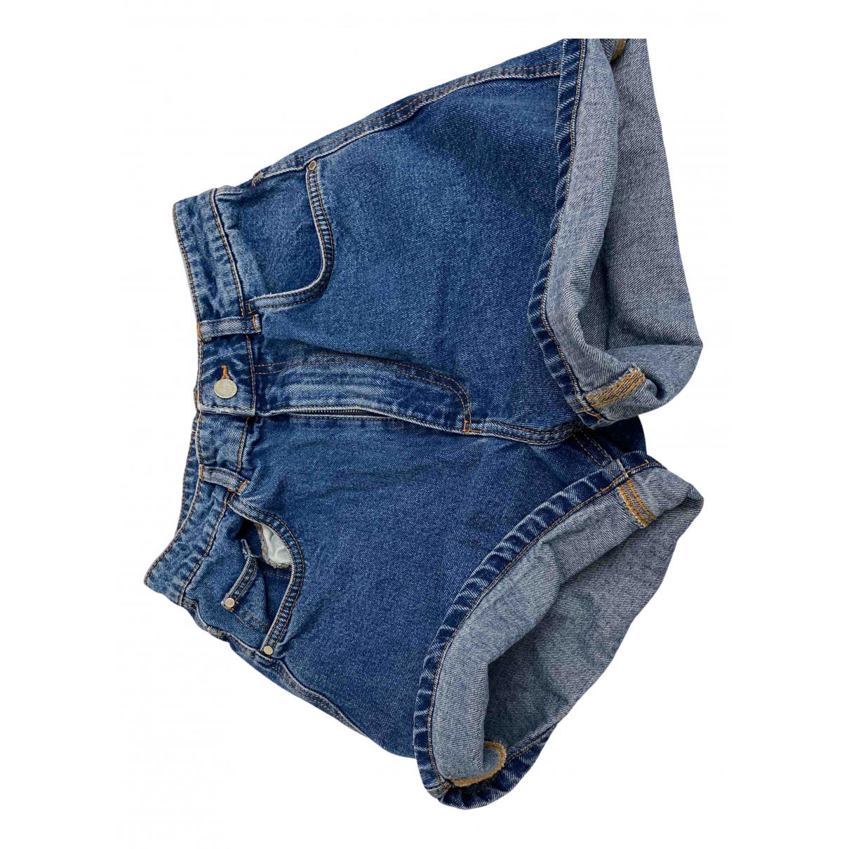 Zara \N Blue Denim - Jeans Shorts for Women 36 IT