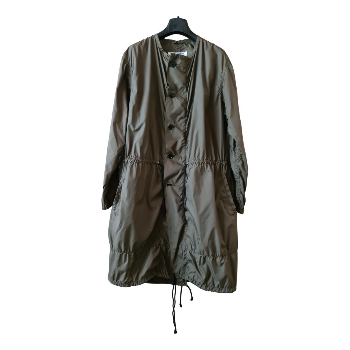 Comme Des Garcons - Manteau   pour femme - vert