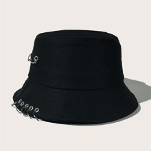 Men Ring Decor Bucket Hat