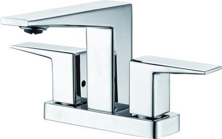 AB1020-PC Polished Chrome Two-Handle 4'' Centerset Bathroom
