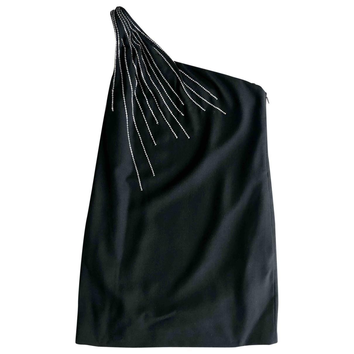 Saint Laurent \N Black Wool dress for Women 40 FR