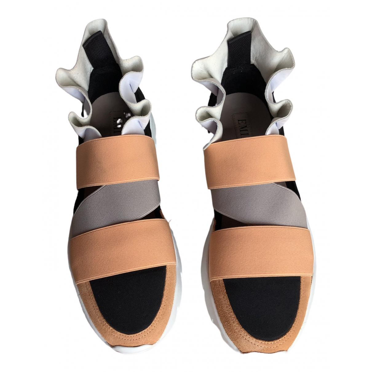 Emilio Pucci \N Sneakers in  Bunt Veloursleder