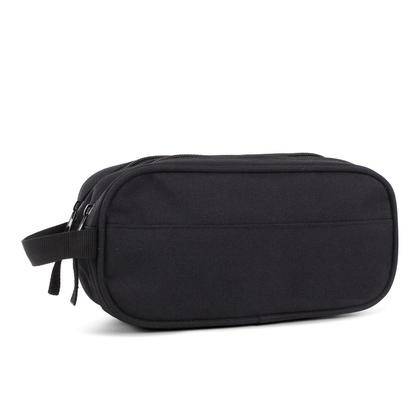 Bond Street Pencil Case, 2 Compartments with Zippered Closure