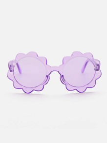 Kids Floral Shaped Sunglasses