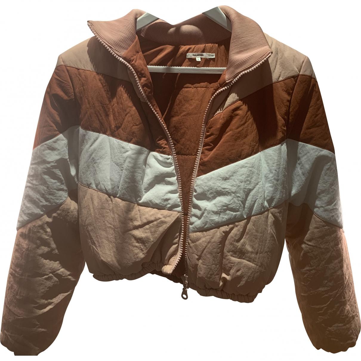 Tularosa - Manteau   pour femme en lin - rose