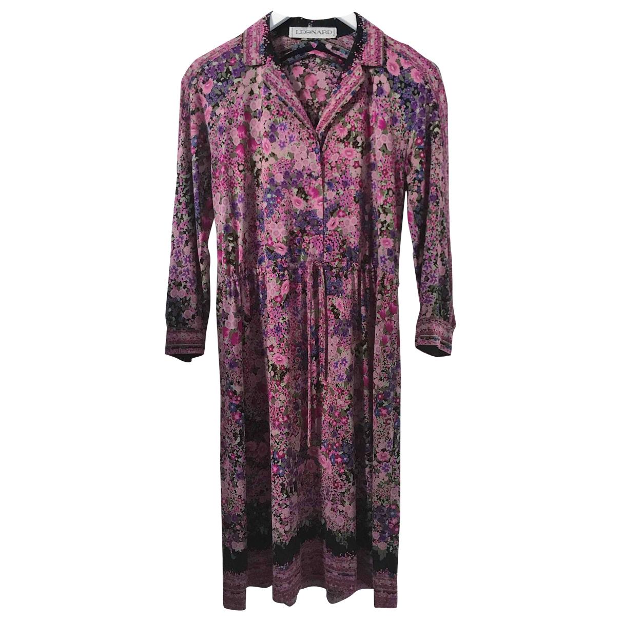 Leonard \N Multicolour Silk dress for Women S International