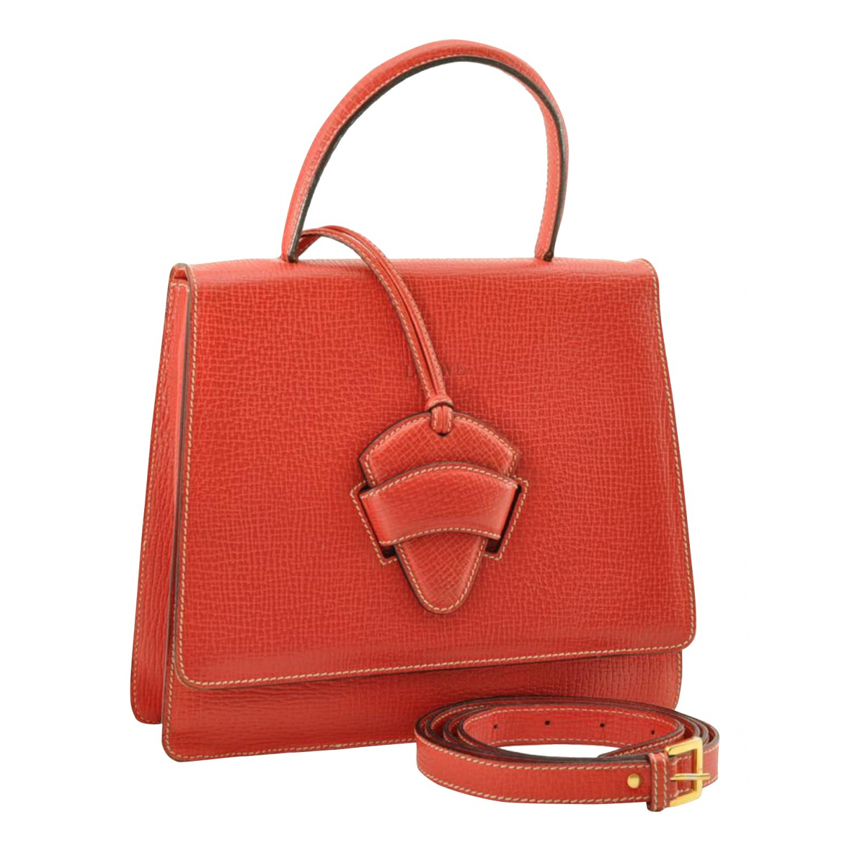 Loewe - Sac a main   pour femme en cuir - rouge