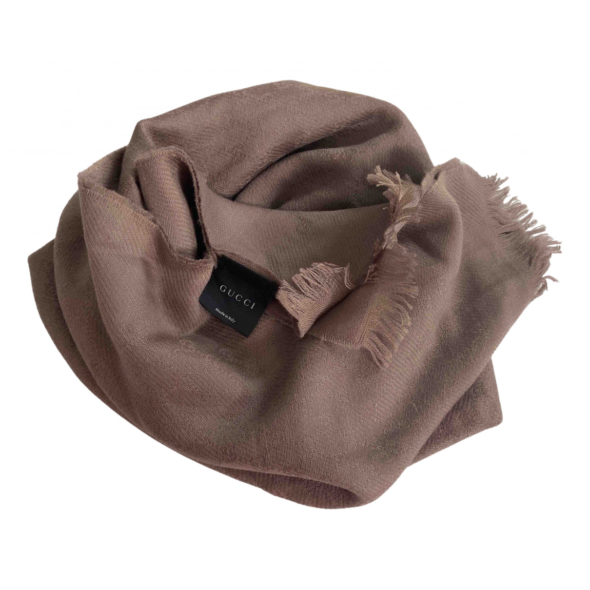 Gucci N Beige Wool scarf for Women N