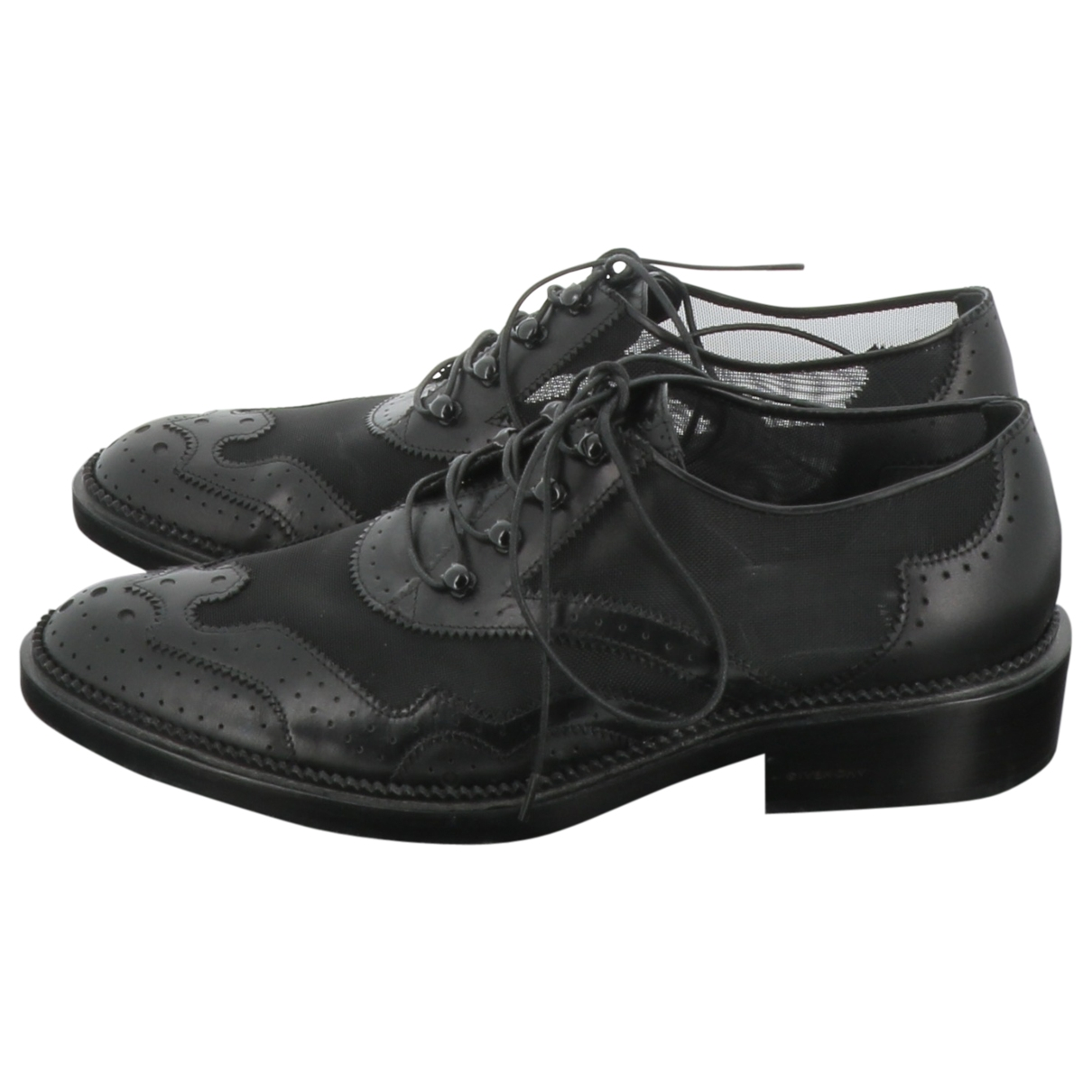 Givenchy \N Black Leather Lace ups for Women 37 EU