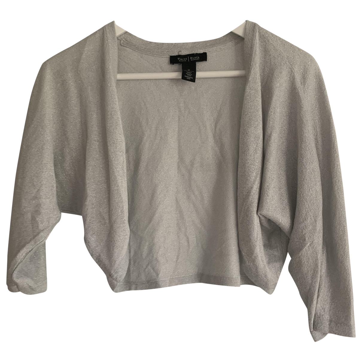 Non Signe / Unsigned \N Pullover in  Grau Baumwolle