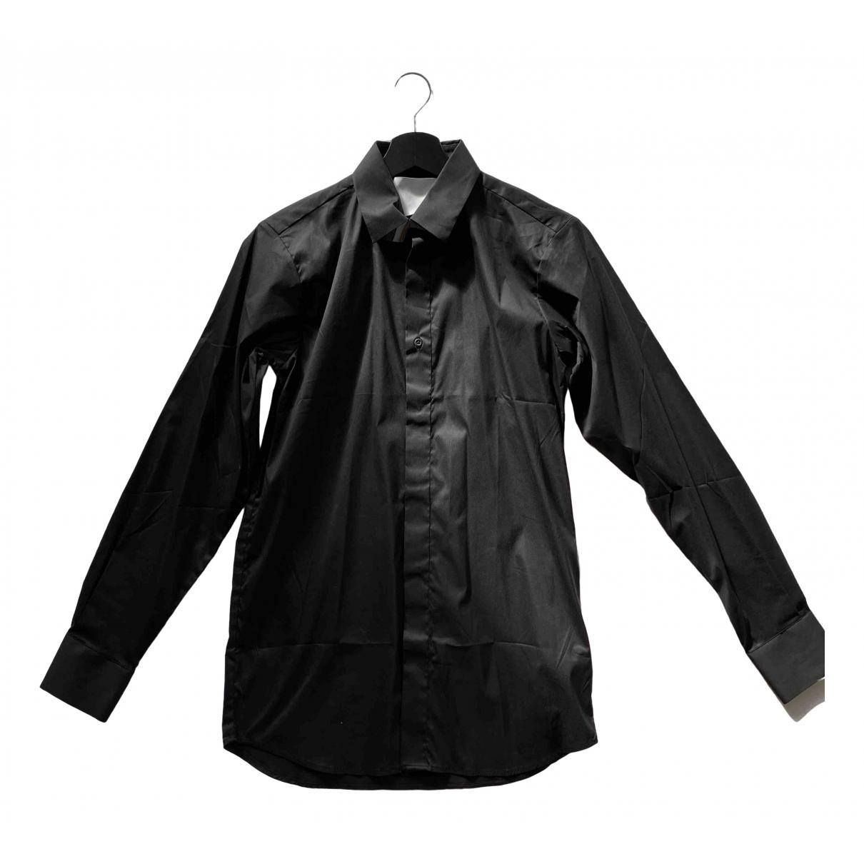 Matthew Miller - Chemises   pour homme en coton - noir