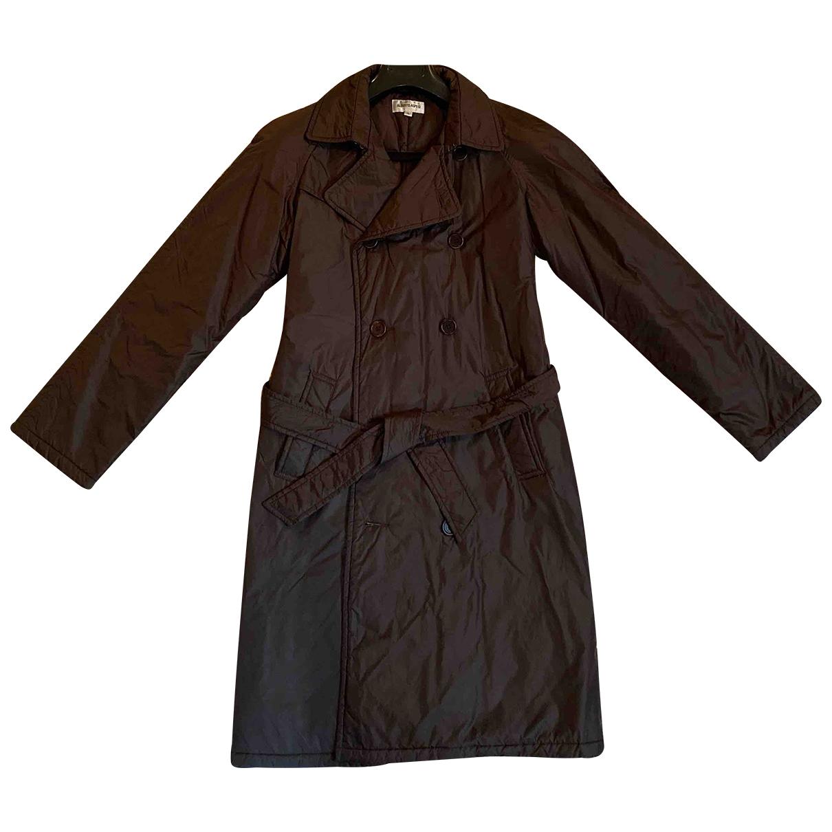 Aspesi \N Brown coat for Women 46 IT