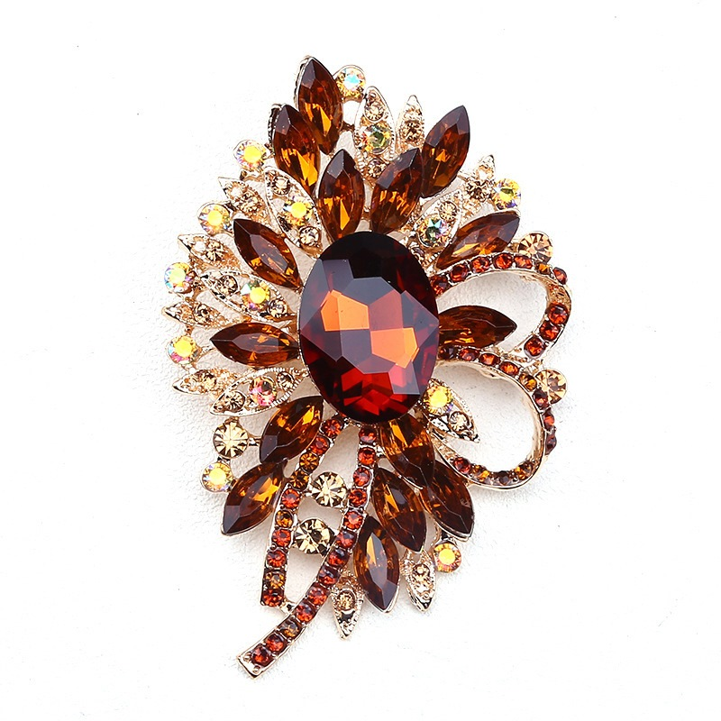 Ericdress Alloy Crystal Brooches