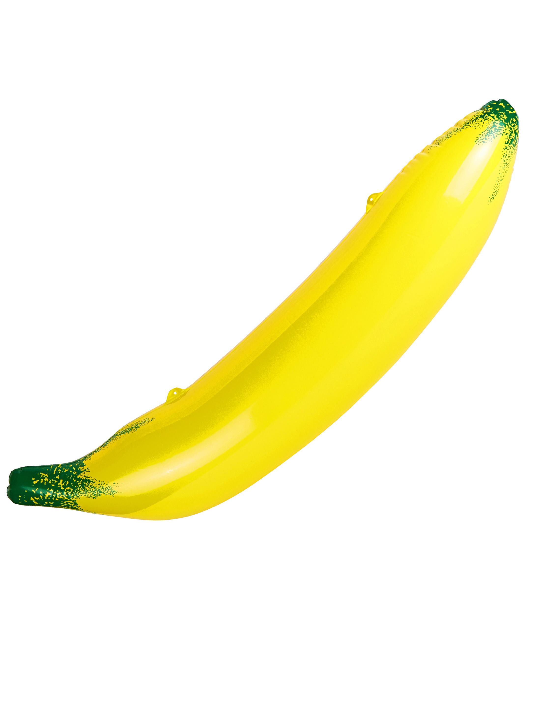 Aufblasbare Banane 110cm Farbe: gelb