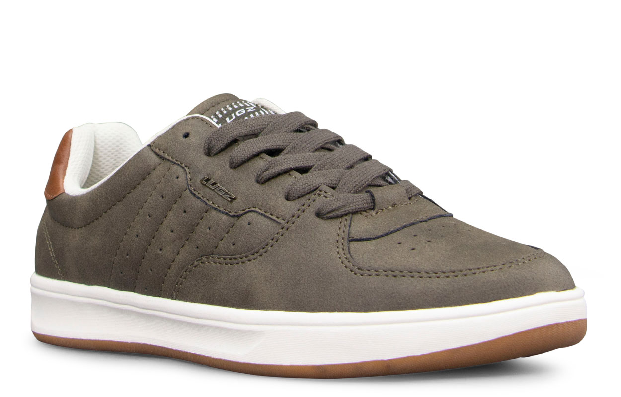Men's Ghost Oxford Sneaker (Choose Your Color: WOODLAND/SOFT WHITE/GUM, Choose Your Size: 8.0)