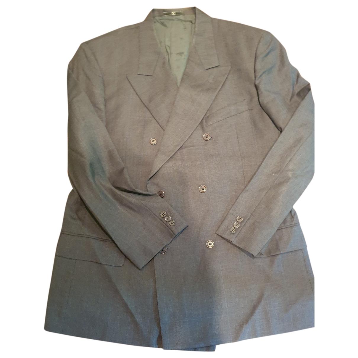 Valentino Garavani - Costumes   pour homme en laine - gris
