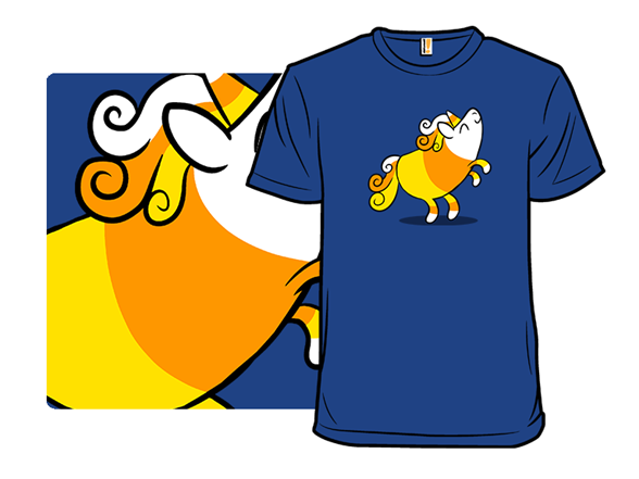 Candy Cornicorn T Shirt