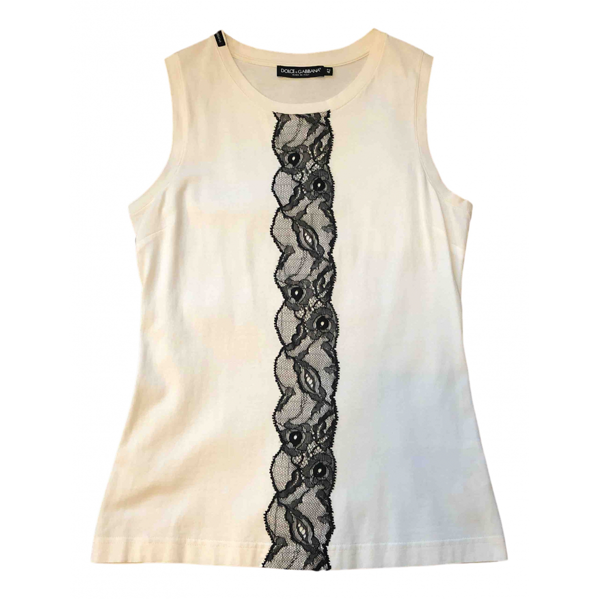 Dolce & Gabbana - Top   pour femme en coton