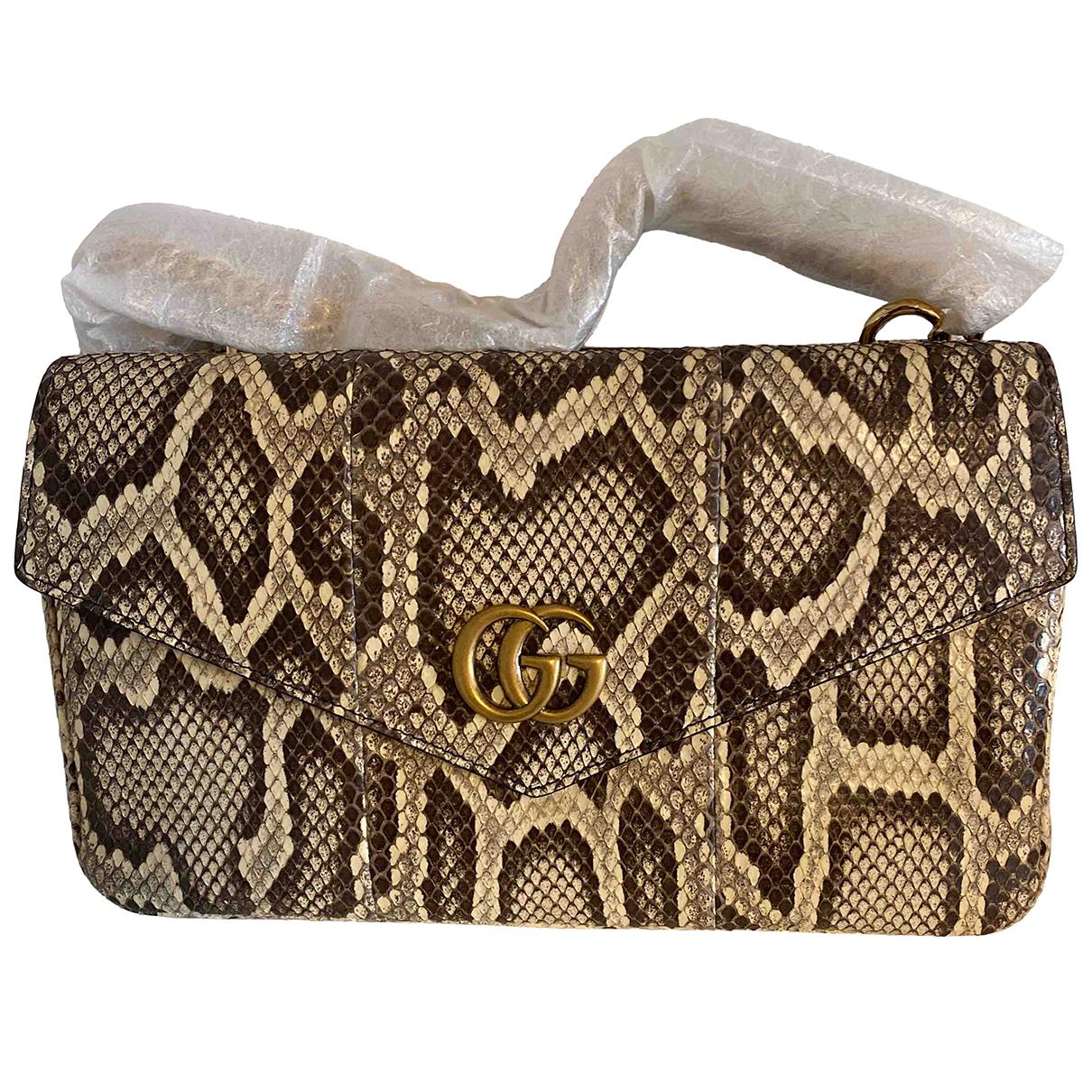 Gucci Thiara Handtasche in  Schwarz Python