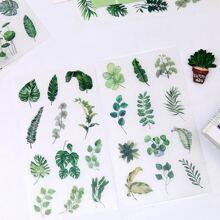 6sheets Plants Print Sticker