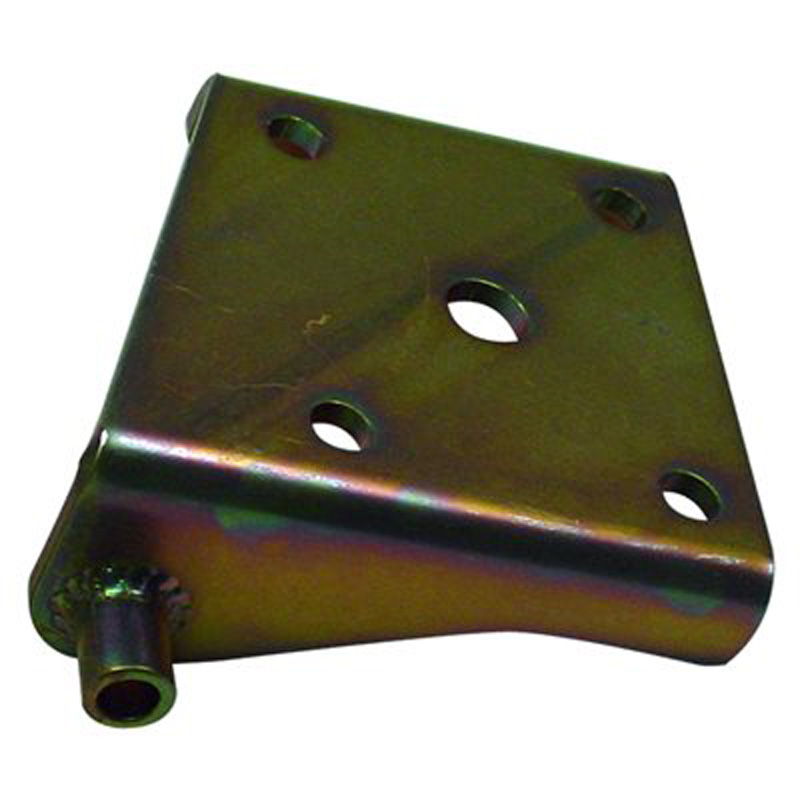 Detroit Speed 040301R Lower Shock Plate Mini-Tubbed Right 3 Inch Axle Tube (Use 1/2 Inch U-Bolts)