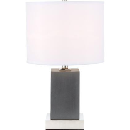 TL3026PN Pinnacle 1 Light Polished Nickel Table
