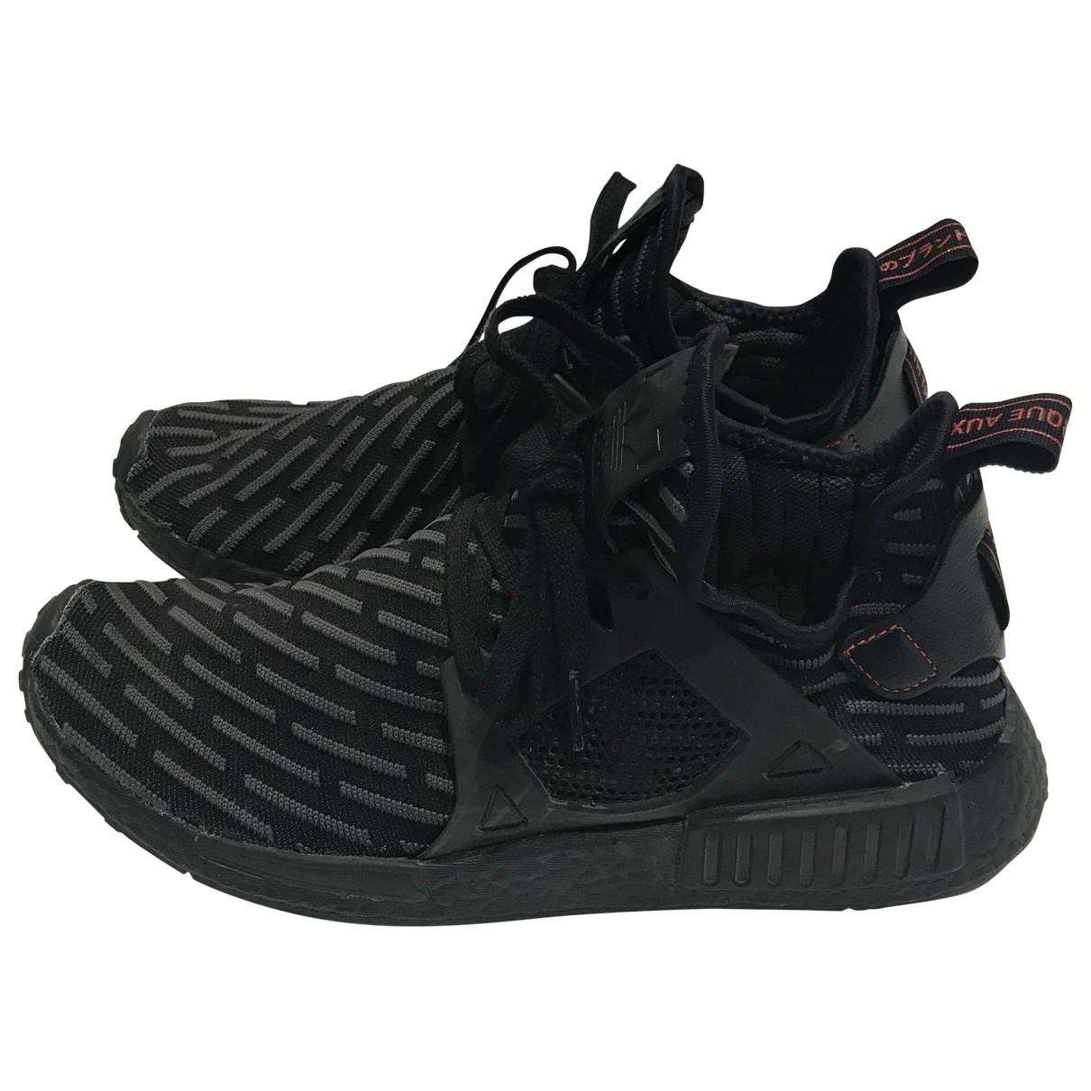 Adidas Nmd Sneakers in  Schwarz Leinen