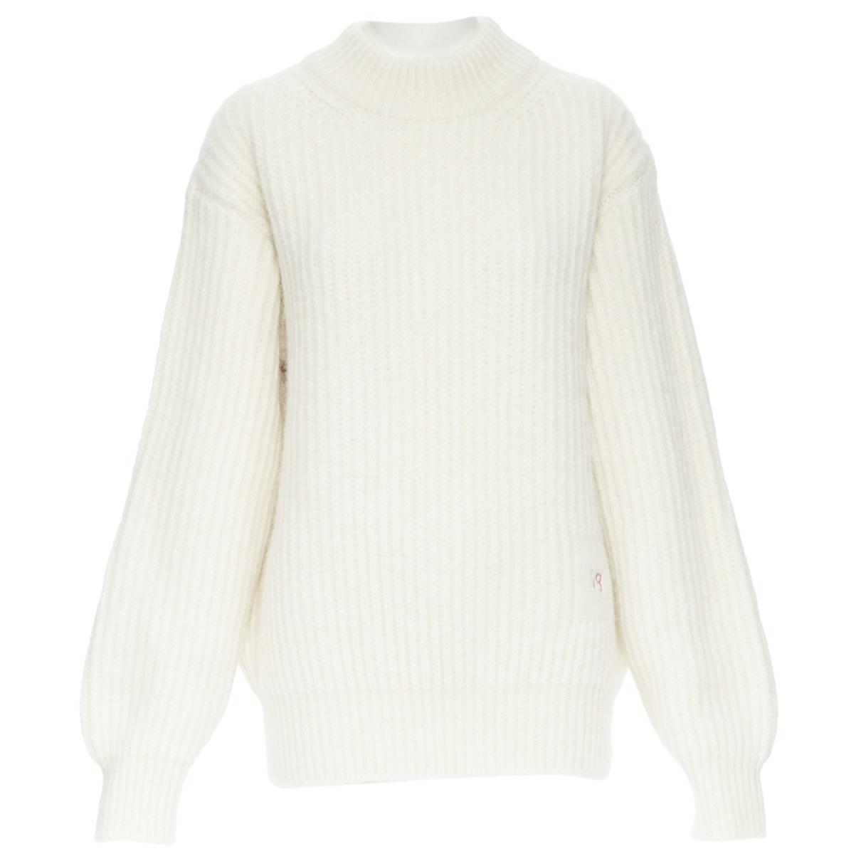 Victoria Beckham - Pull   pour femme en coton - blanc