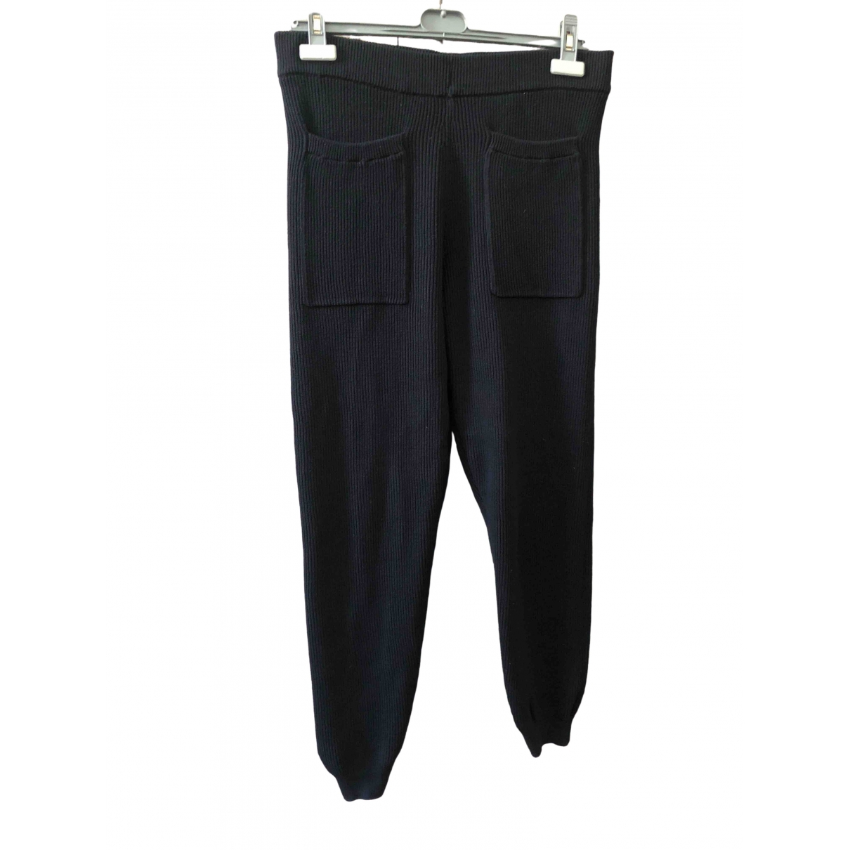 Cos \N Blue Cotton Trousers for Women S International