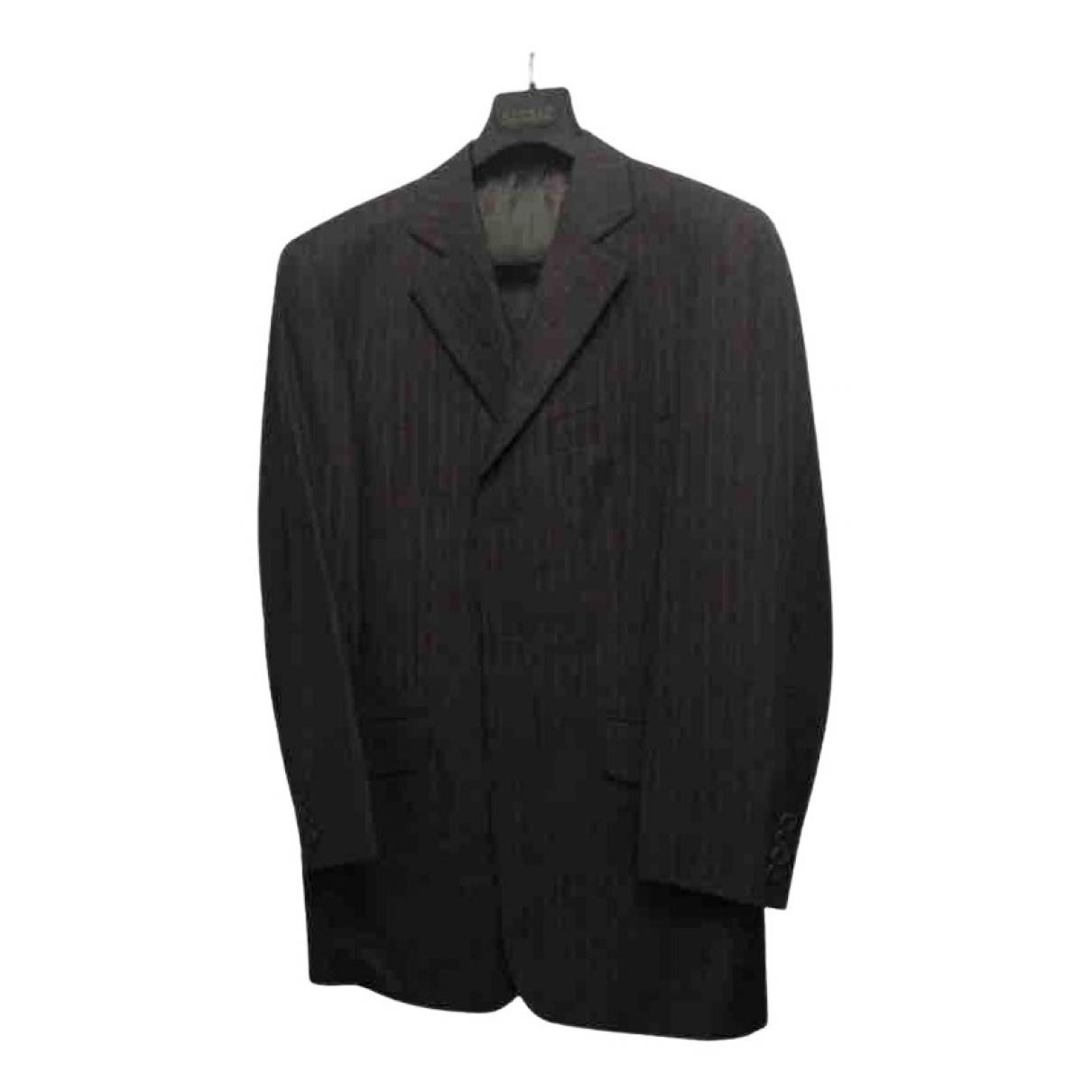 Guy Laroche - Costumes   pour homme en coton - noir