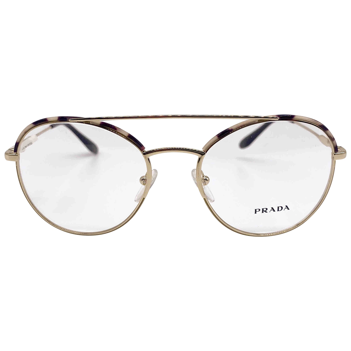Prada \N Gold Metal Sunglasses for Women \N