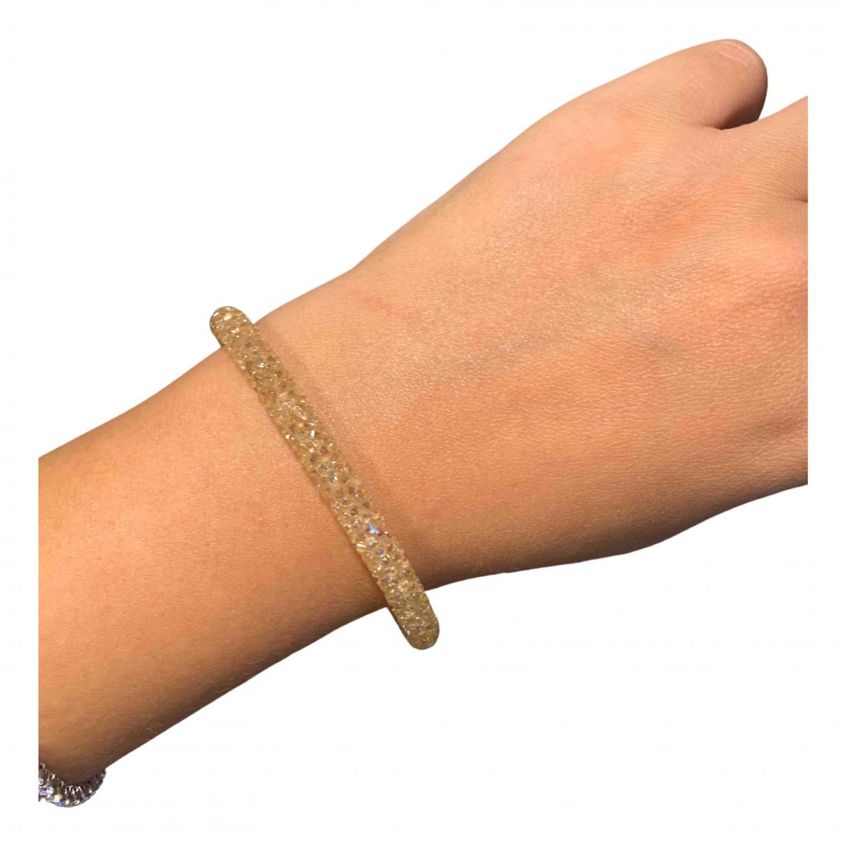 Swarovski - Bracelet   pour femme en cristal - dore