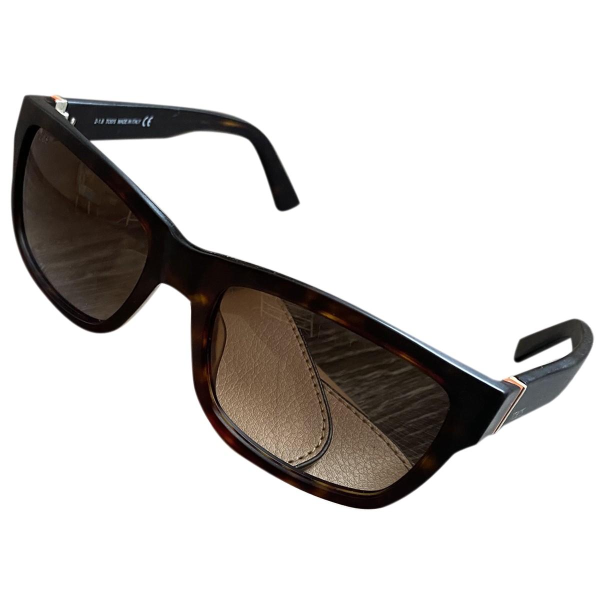 Tod's \N Brown Sunglasses for Men \N