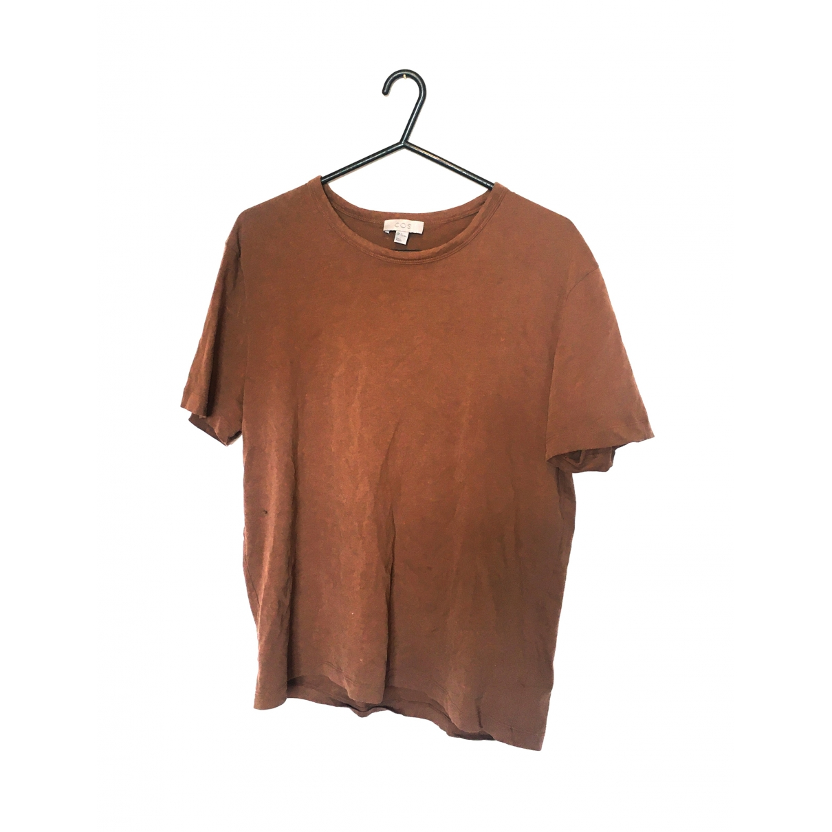Cos \N Brown Cotton T-shirts for Men M International