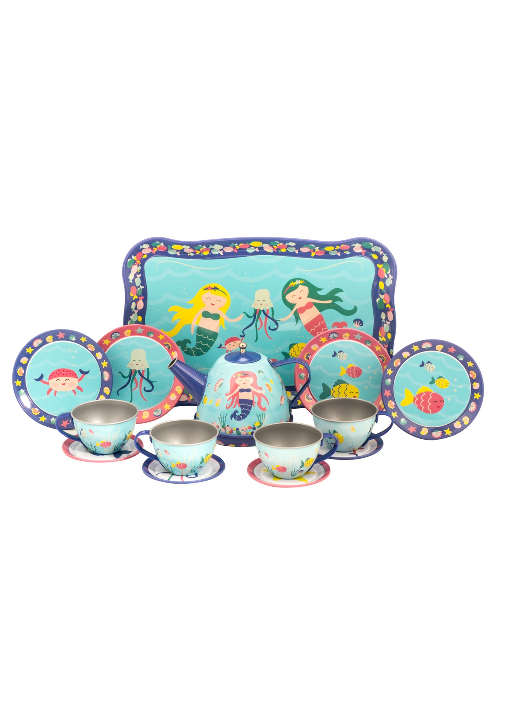 Mermaid Tin Tea Playset